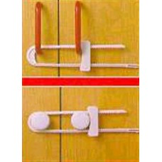 Slide Lock (pair) Cupboard Door Lock